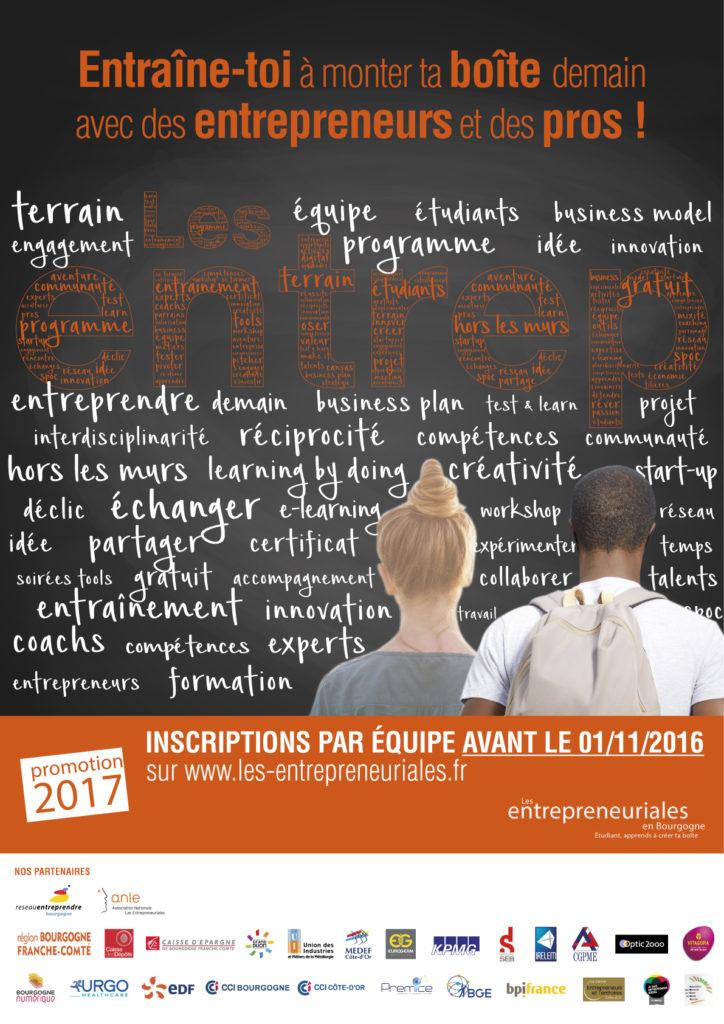 Affiche 2016 Bourgogne