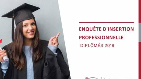 Enquête d'insertion professionnelle des diplômés 2019